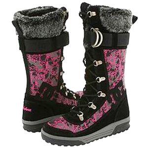 DC dacha pink skull winter boots 9.5